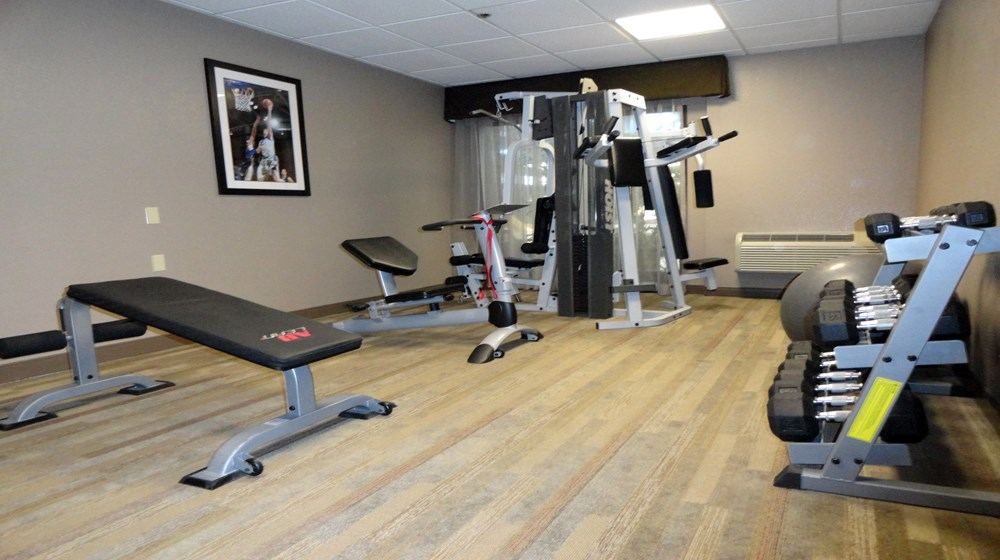 Fitness Center - Weight Room