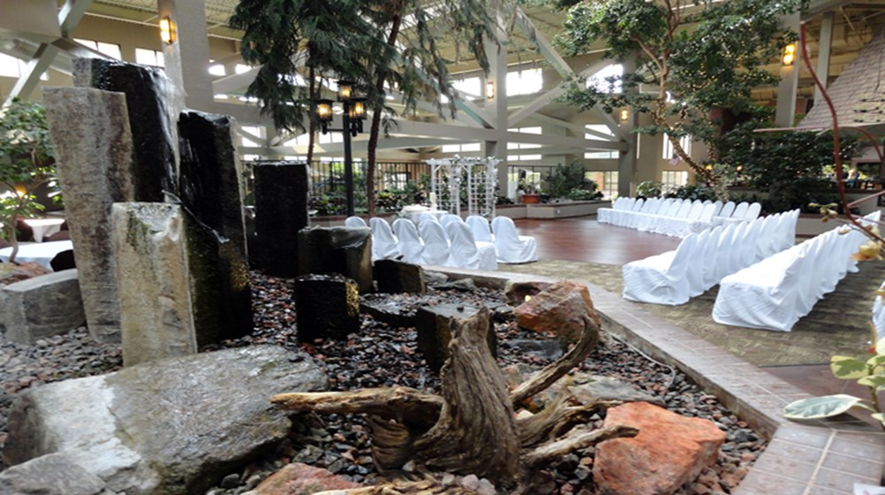 Romantic Atrium Ceremony