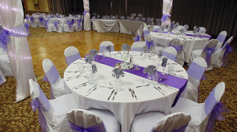 Elegant Ballroom Wedding Receptions